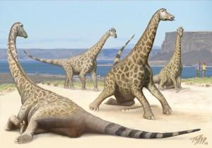 Nesting Alamosaurs