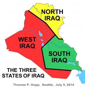 Iraq 3 States