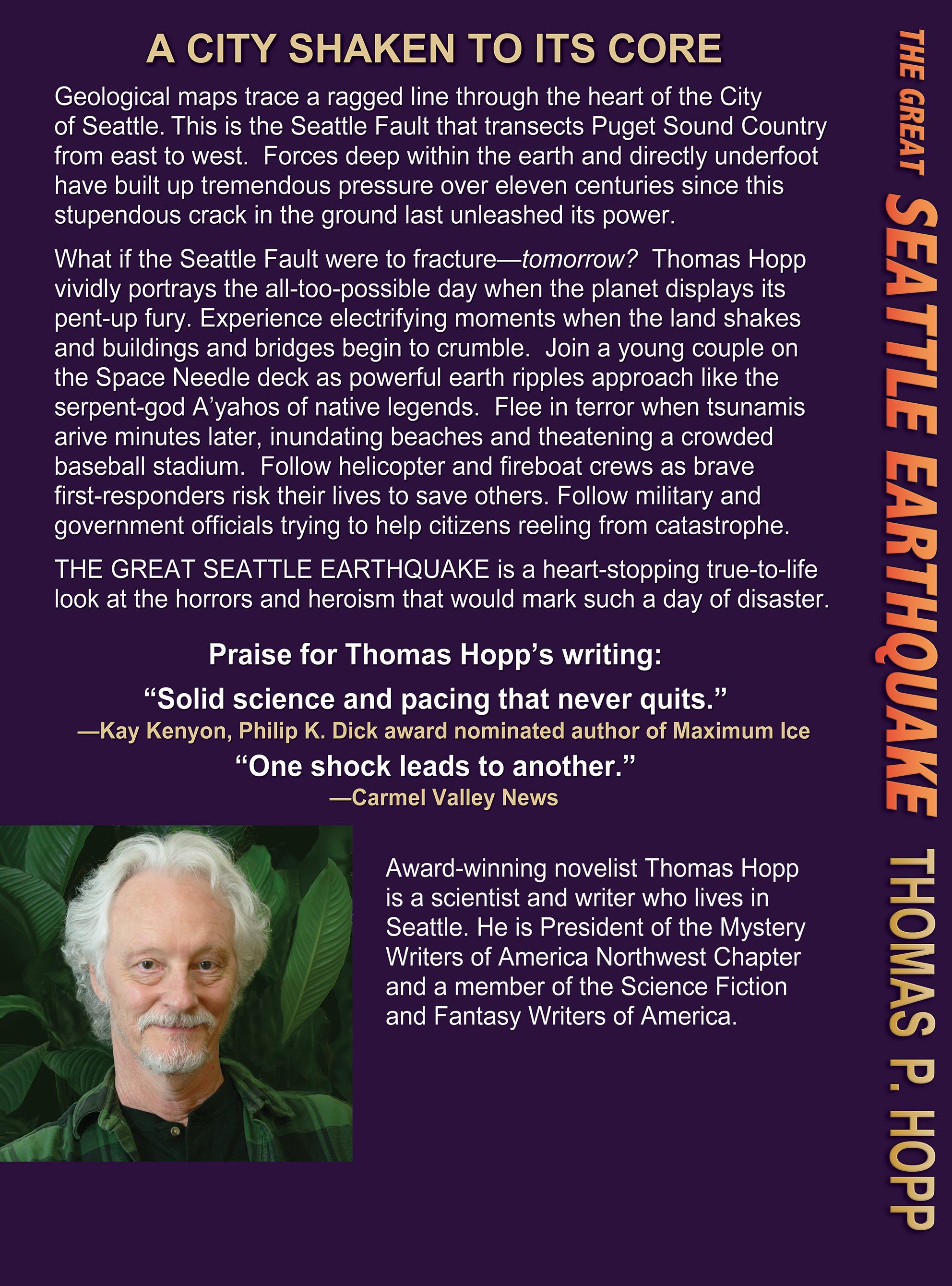 Thomas P Hopp's Blog | Thrillers, science fiction, & mysteries