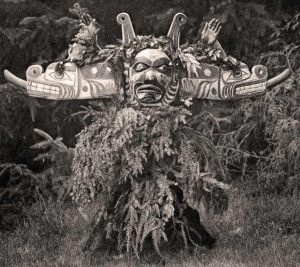 Kwakiutl dancer